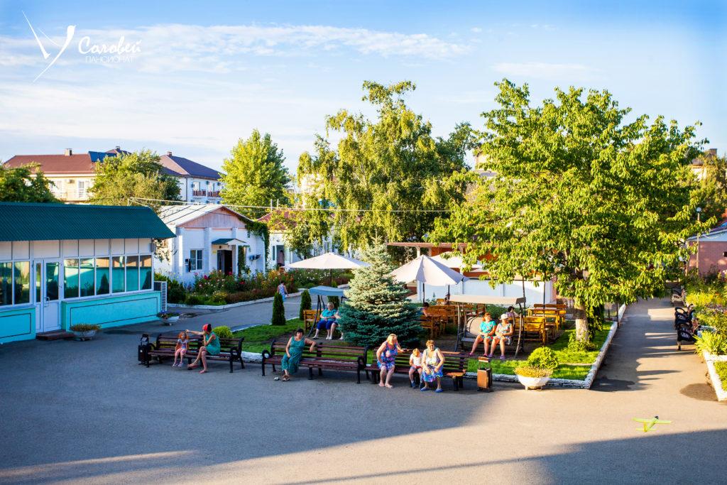 Пансионат «Соловей» в Анапе - отдых на черном море