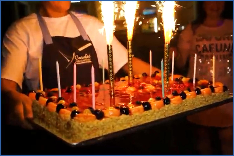 День рождения на море